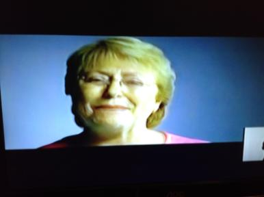 Imagen campaña Michelle Bachelet