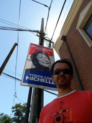 Valla campaña Michelle Bachelet 2013