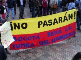 Tumba del uribismo en manifestación contra destitución de Gustavo Petro
