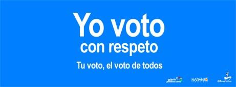 Campaña Tu voto, el voto de todos