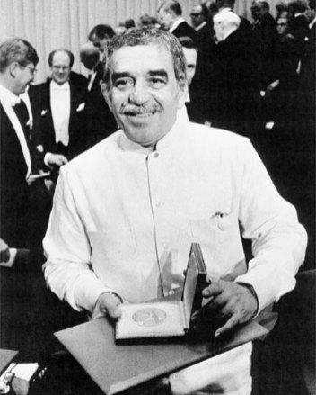 Gabriel García Márquez el día del Nobel