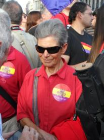 Todas las generaciones involucradas en manifestación