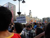 "La multitud coreaba ""España, mañana será republicana"""