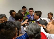 Rueda de prensa con Luis Pérez