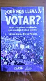 Portada del libro ¿Que nos lleva a votar?