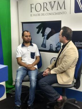 Entrevista con Alejandro Ramírez en GALERÍA POLÍTICA