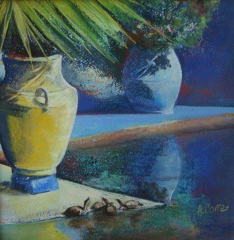 Peinture Les Jardins de Majorelle