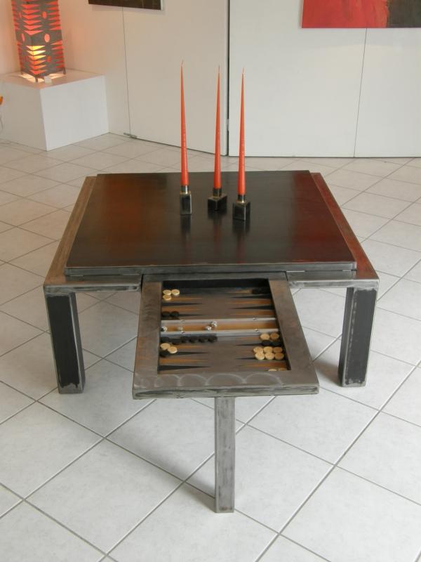 Deco Design Metaldesignfer For Table Basse Pi L