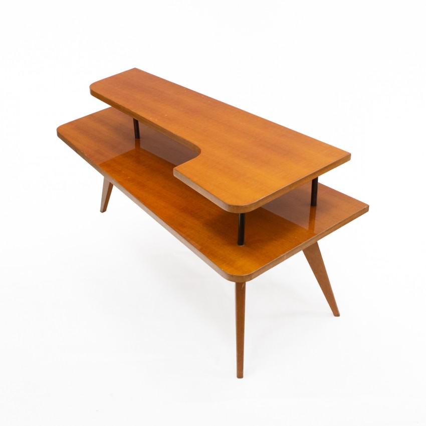 table basse tripode de forme libre