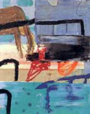 jeden Sommer die gleiche Sehnsucht, Öl / Leinwand, 81 cm x 65 cm, 1998