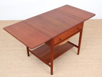 Mid-Century Modern scandinavian sewing table AT 33 by Hans ...