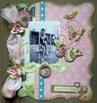 Style Vintage et style shabby chic en scrapbooking