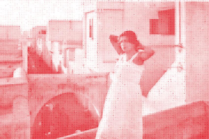 06. Bouzbir, Utérus - Jeunes israélite s'étirant au soleil