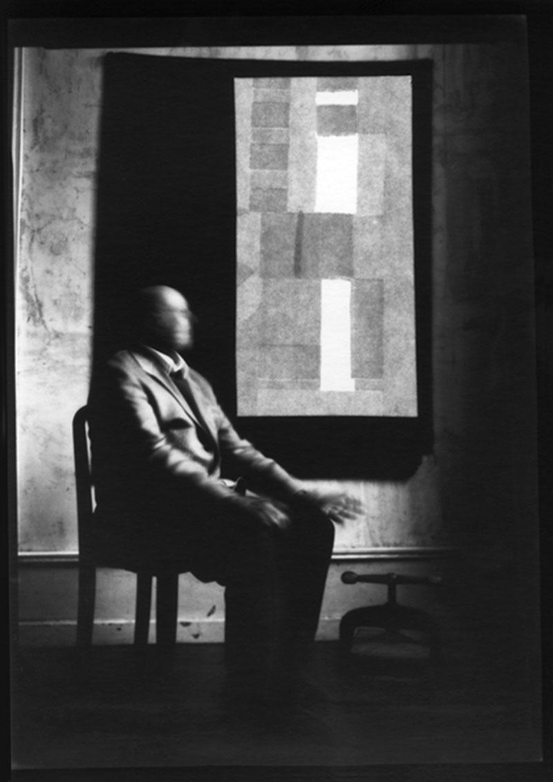 L'homme assis, 2014.