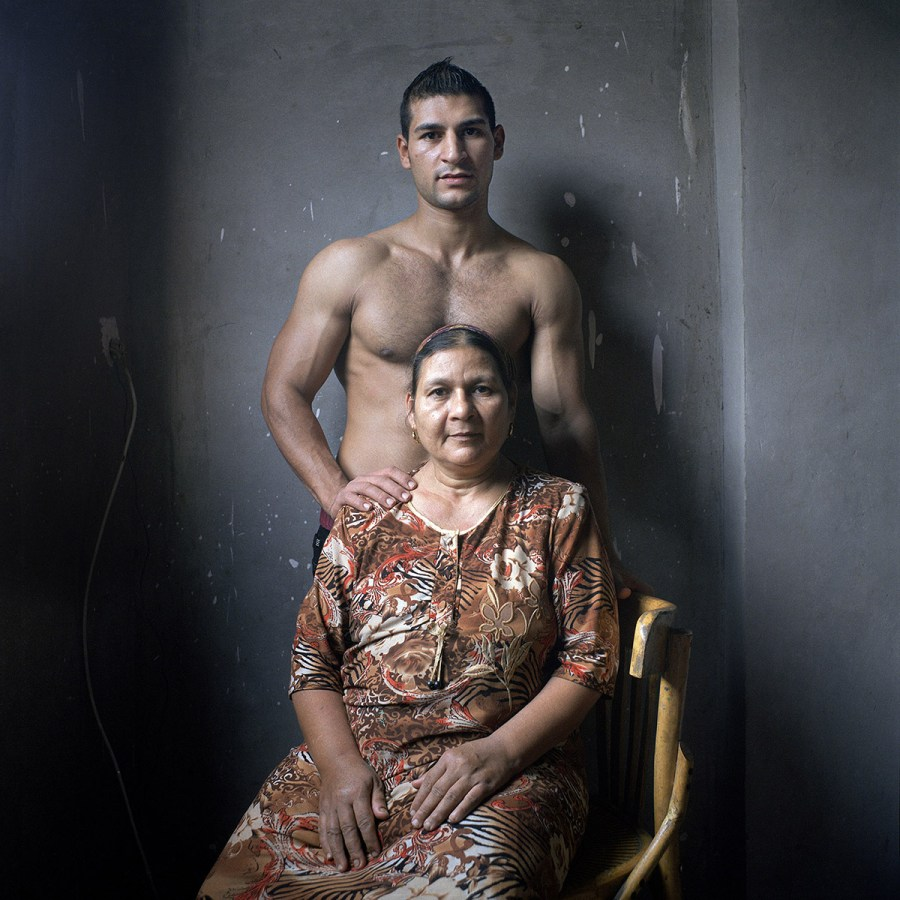 Michael et sa mère