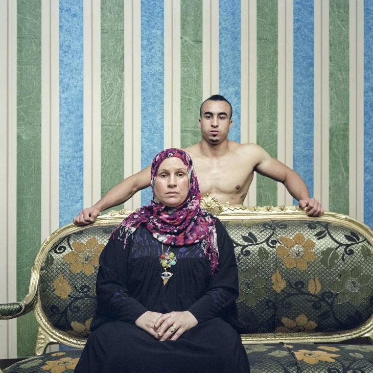 Mahmoud et sa mère (2)