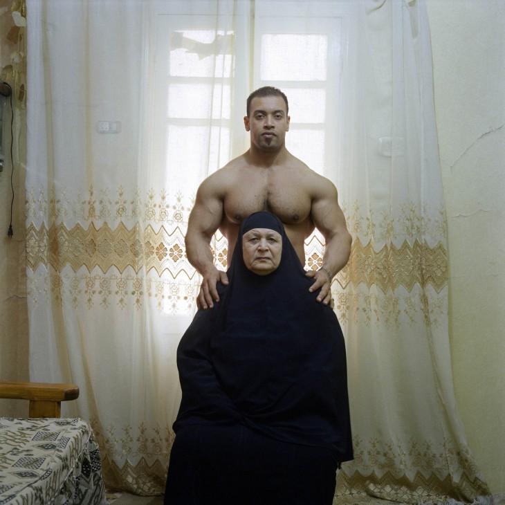 Ahmed et sa mère