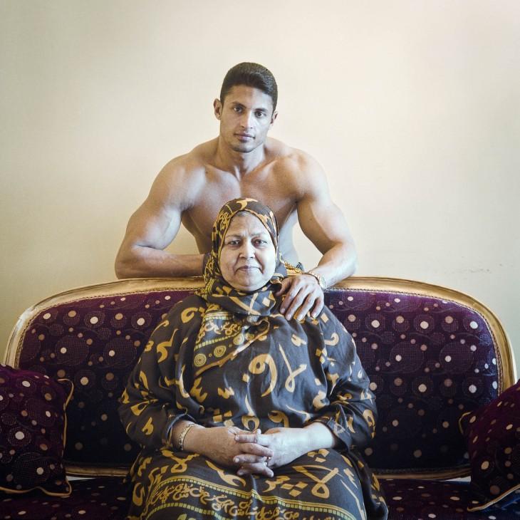 Emad et sa mère