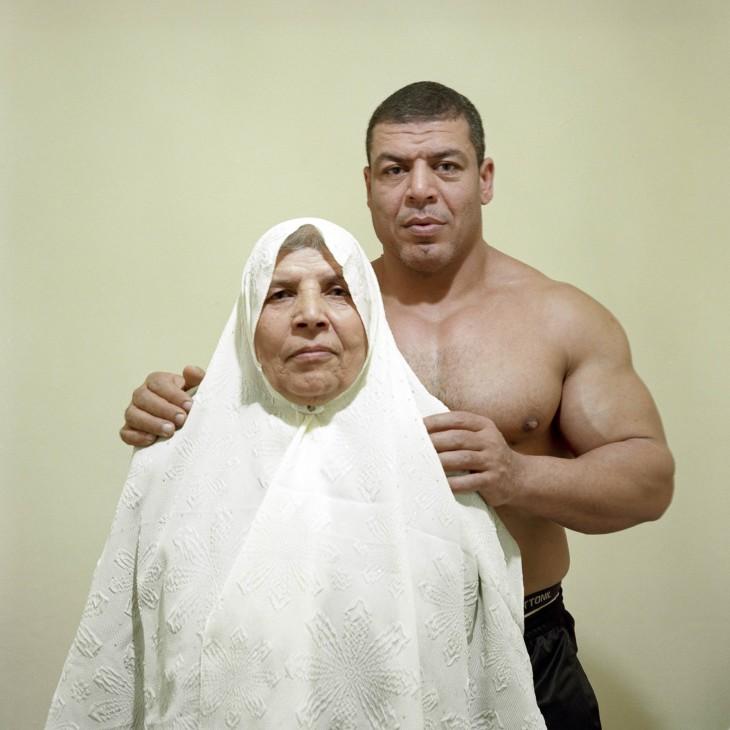 Ashraf et sa mère