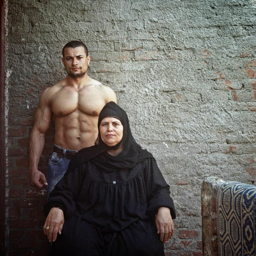 Sherif et sa mère