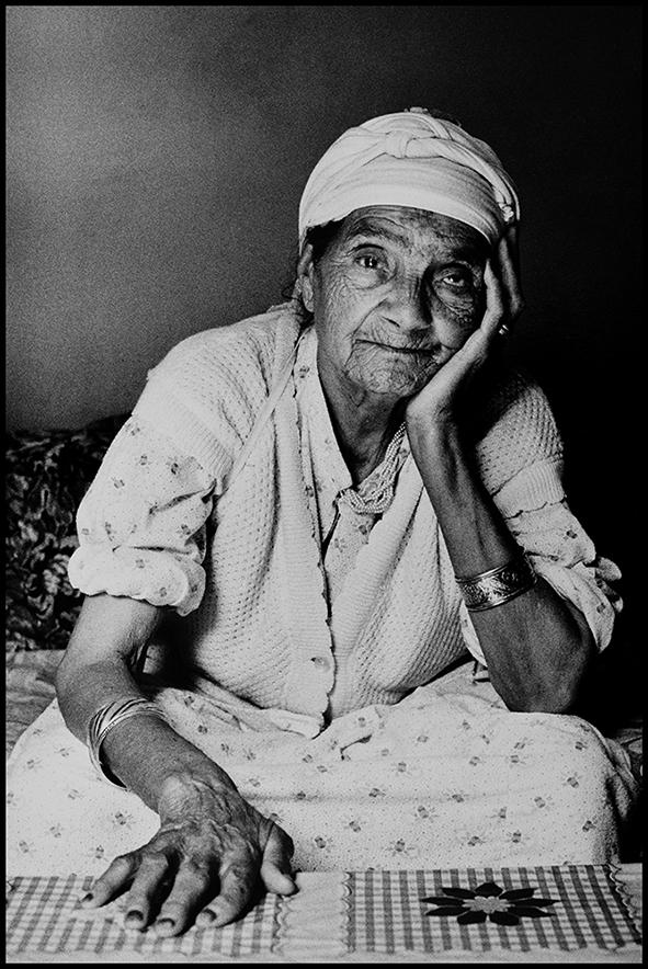 Itto, ma grand-mère, Anza (près d'Agadir) 1991