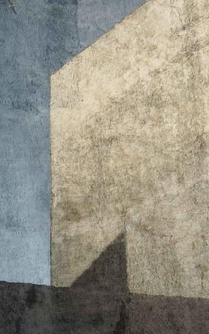 Abstraction Bleue 3, Essaouira