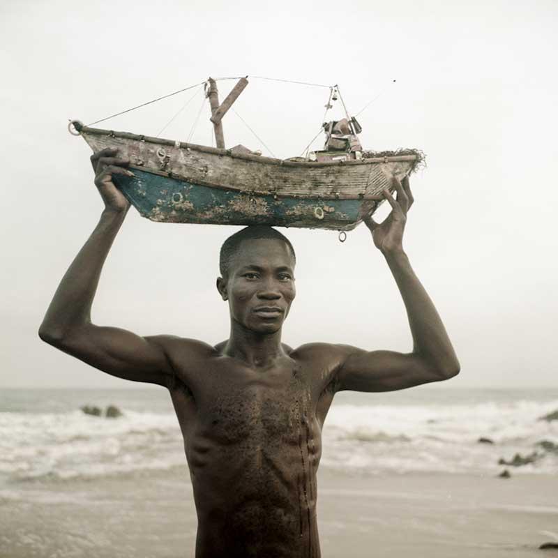 L'homme au bateau