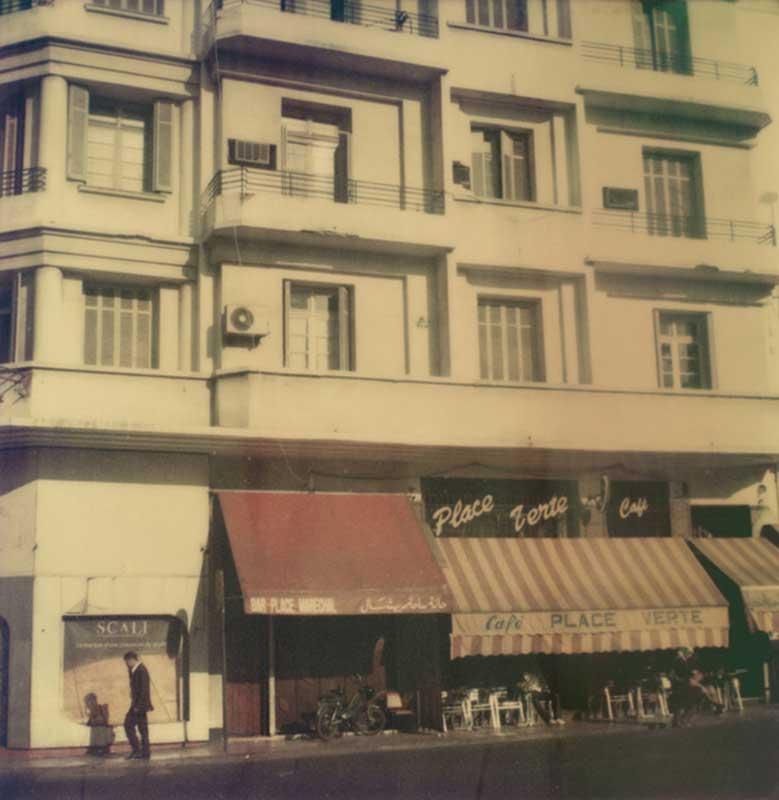 Casablanca #13, 2010 / Le café La Place Verte