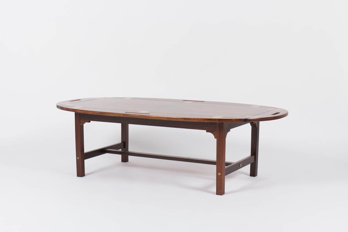 svend langkilde coffee table in rosewood edition illums bolighus 1950