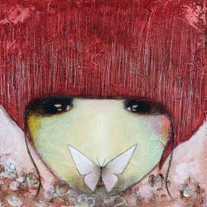 Effet Papillon, peinture de Armandine Jacquemet