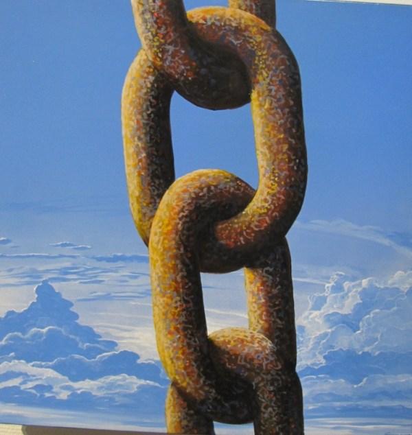 Chaine peinture Michel Oury