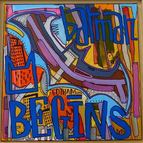 street art batman Tarek galerie JPHT