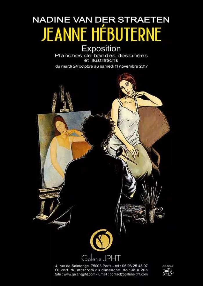 Affiche A3 expo Jeanne Hébuterne29.7 x 42 cm Papier 135 g 2017