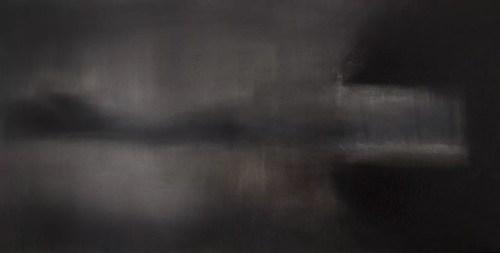 Bas-fond - Thierry Chavenon 80 x 40 cm Huile sur toile de lin