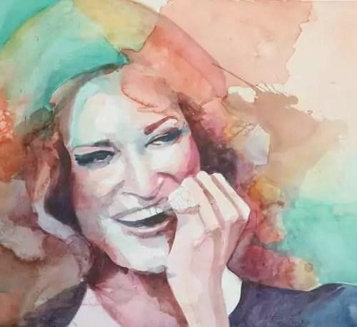 J'ai encore des amours à vivre - Javier Navarro Avilés 50 x 65 cm