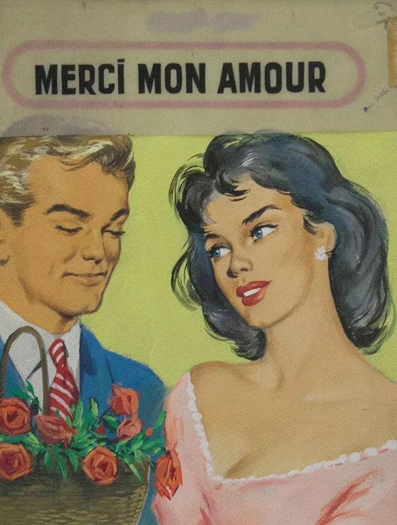 Merci mon amour - Michel Gourdon - Galerie JPHT