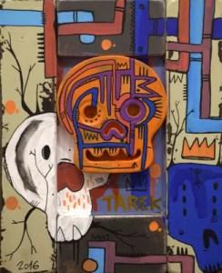 Tarek - Skull orange - 2017