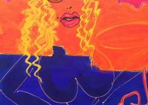 Isa Sator - Portraits de famille -La mère Rose Bonbon