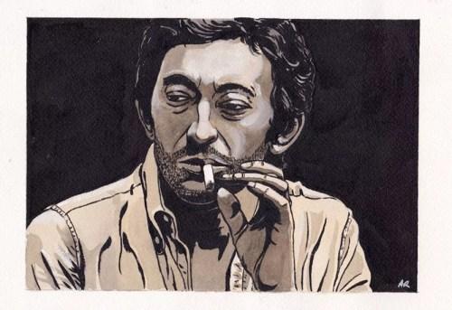 Alain Robet - Gainsbourg - Galerie JPHT
