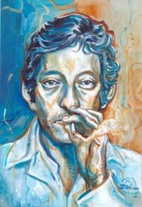 Gwendal Lemercier - Gainsbourg - Galerie JPHT