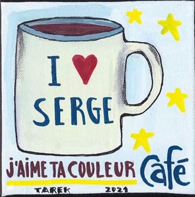 J'aime couleur café - Tarek - Gainsbourg - Galerie JPHT - 0008