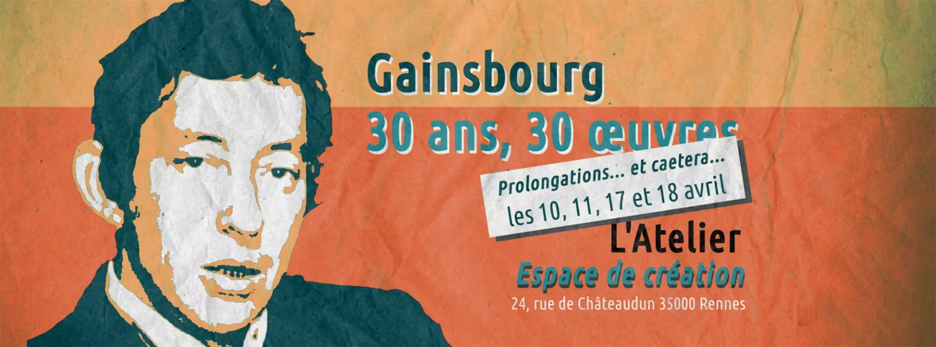 expos gainsbourg 30 ans 30 oeuvres