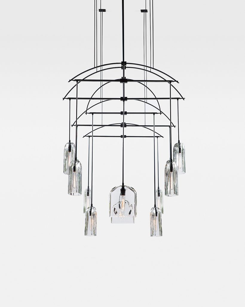 Alison Berger's Tour de Force Glass Lighting and Tables