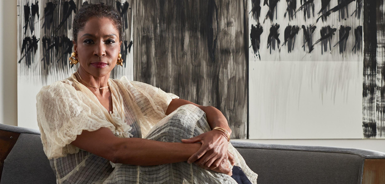 Lorna Simpson at Her David AdjayeDesigned Studio  Galerie