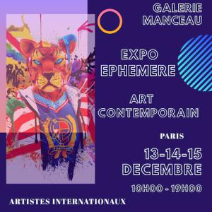 Galerie Manceau - Expo Paris
