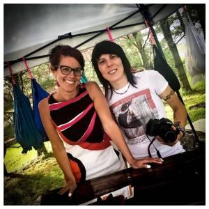 Mélanie Poirier et Myriam Bussière