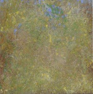Printemps 1, acrylique sur toile, 50 x 50 cm, 2001
