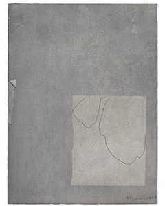 Kaishi I, 2018. Technique mixte, 39 x 29 cm.