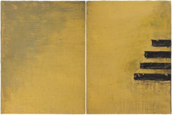 """""""LE QUAI DU 11 décembre 2019 », 130 x 194 cm, 2019"""
