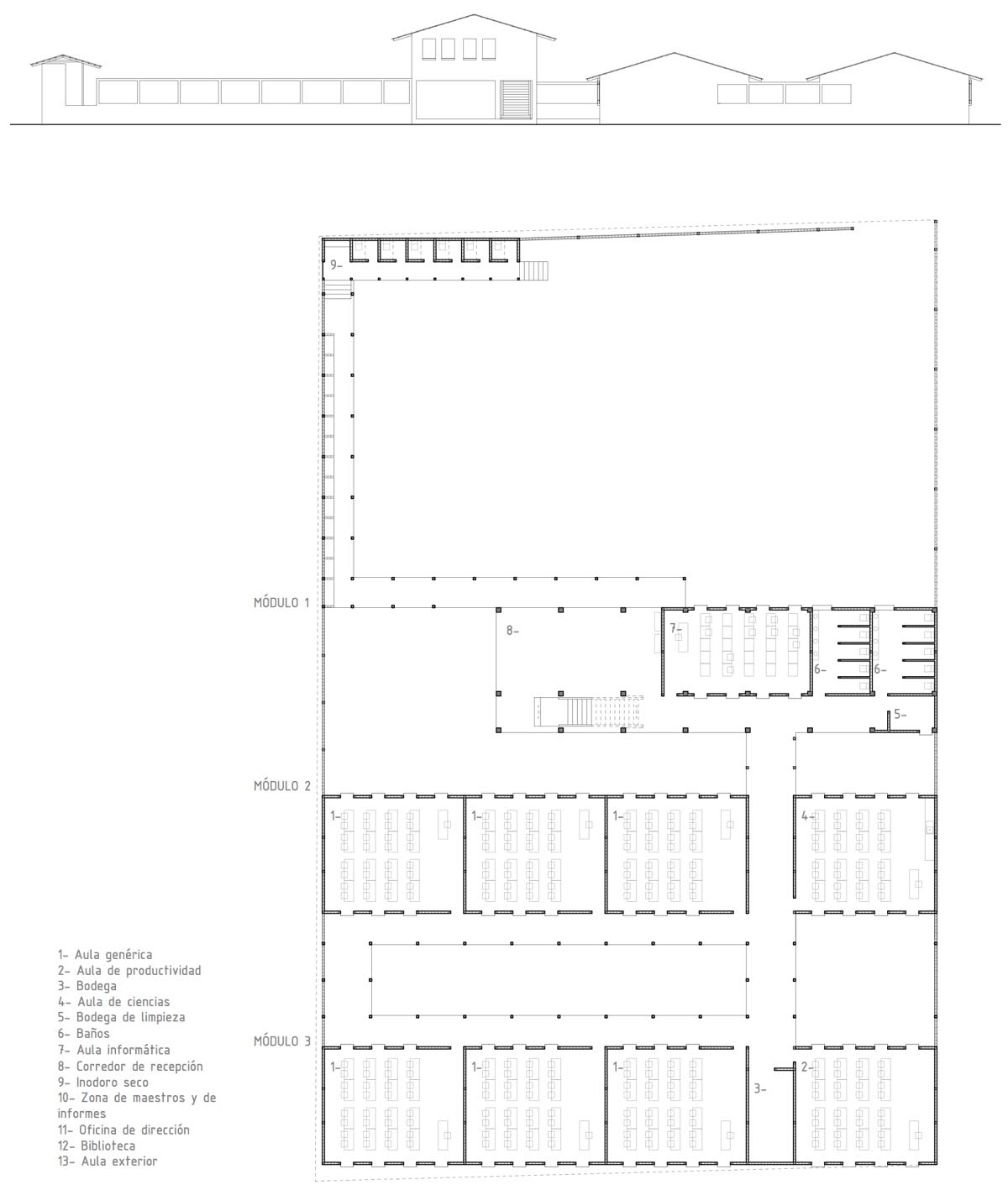 2011 INEB Nueva Cajolá planos